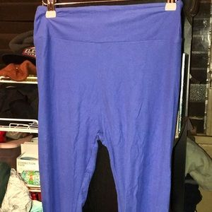 OS Royal Blue Leggings